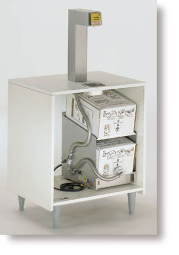 Bag-in-Box Topper Dispensing System