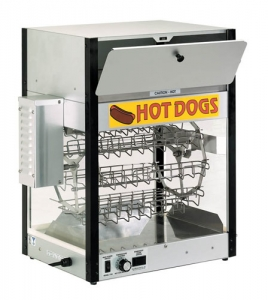 Combination Hot Dog Cooker and Bun Warmer