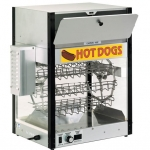 Combination Hot Dog Cooker and Bun Warmer